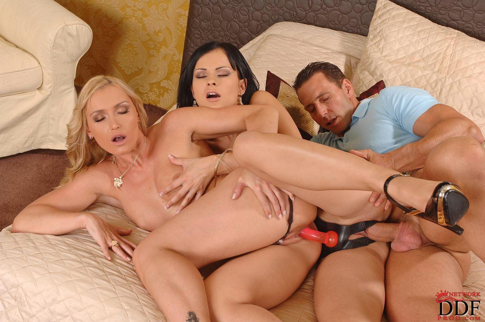 Hd Big Tit Anal Threesome