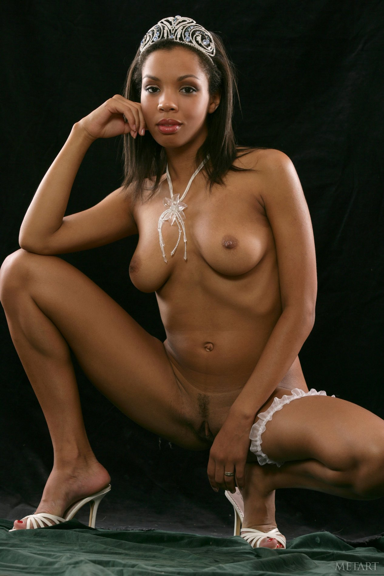 Beautiful black nude models-9697