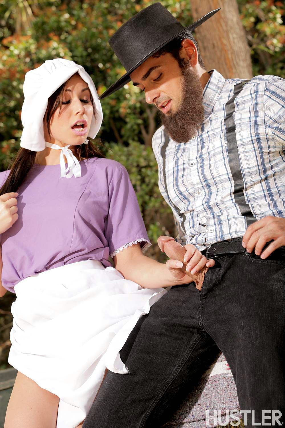 Amish girl blowjob - 1 part 2
