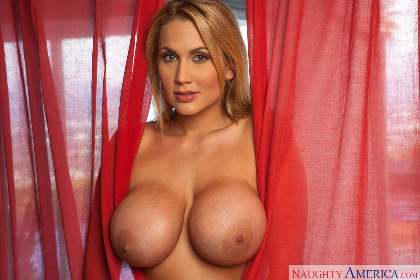 Big boobs blonde alanah rae