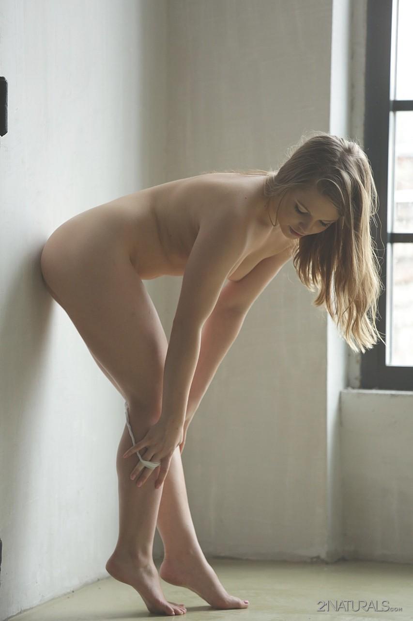 Innocent girl masturbates