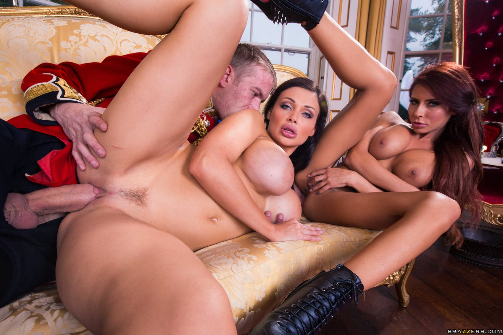 Madison Ivy Anal Threesome