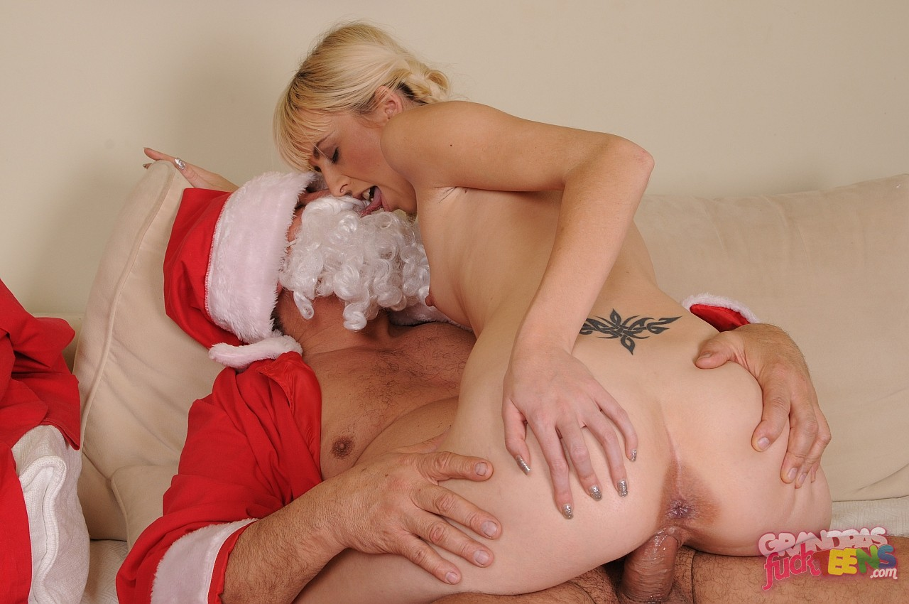 image Horny blonde milf is taking a magic