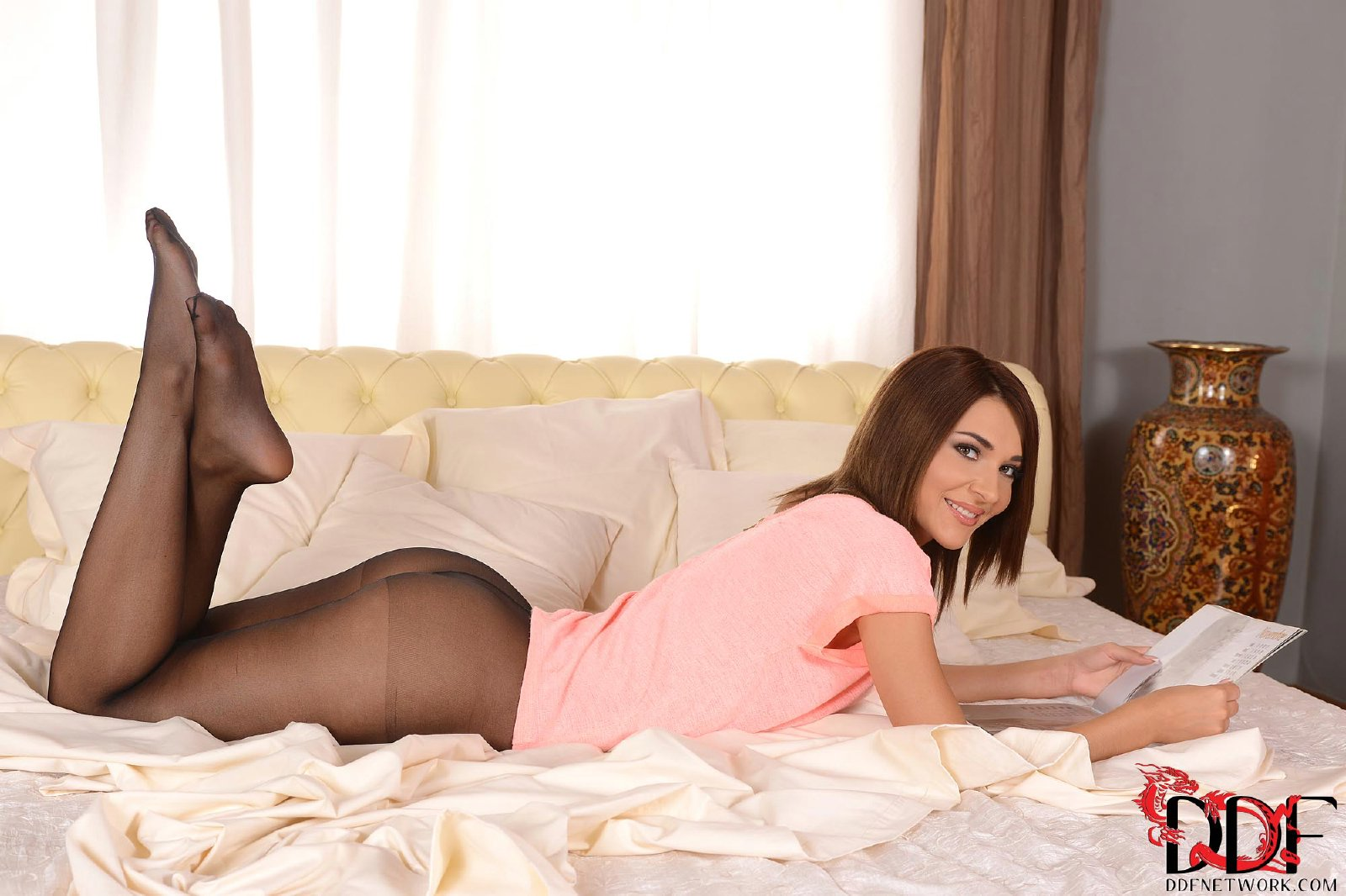 Perfect in pantyhose