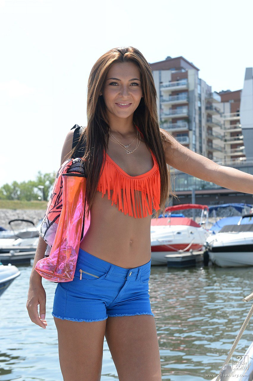 Alexis brill nude on boat can not