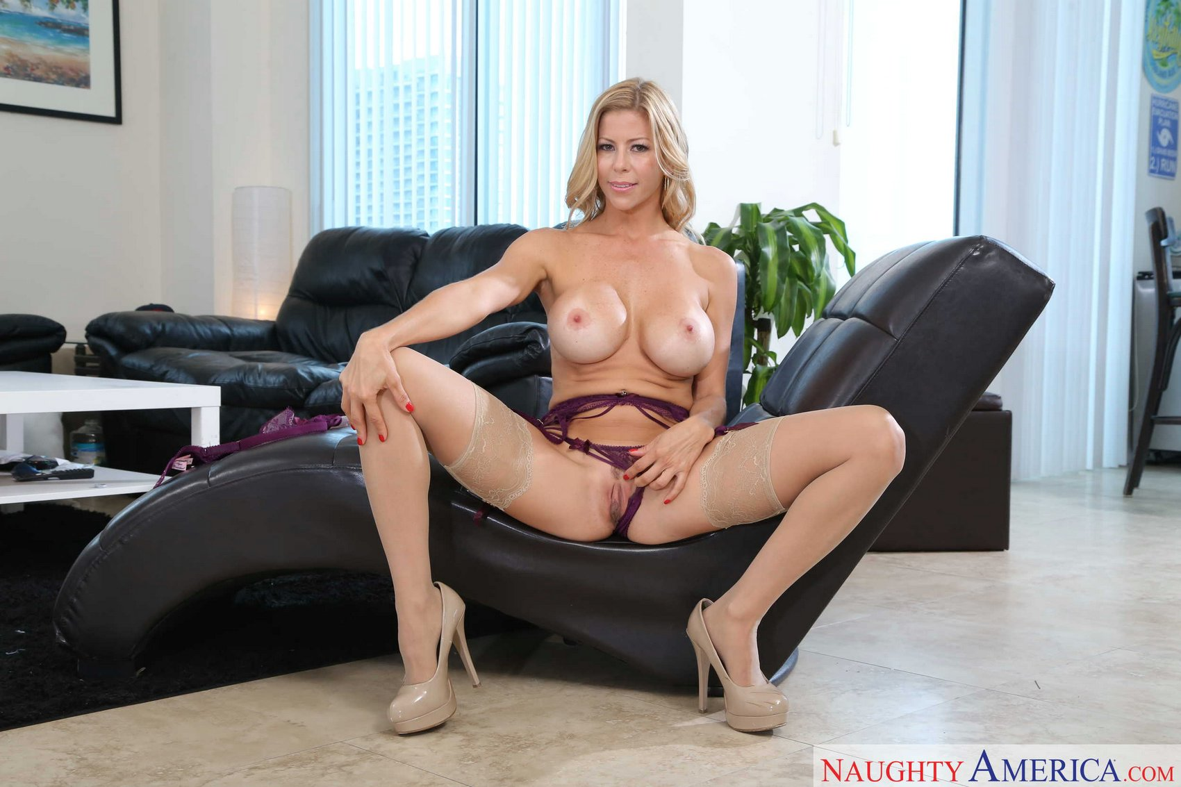 Magnificent idea Alexis silver posing in stockings opinion you
