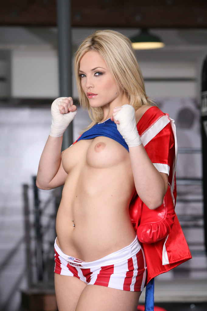 alexis texas boxing