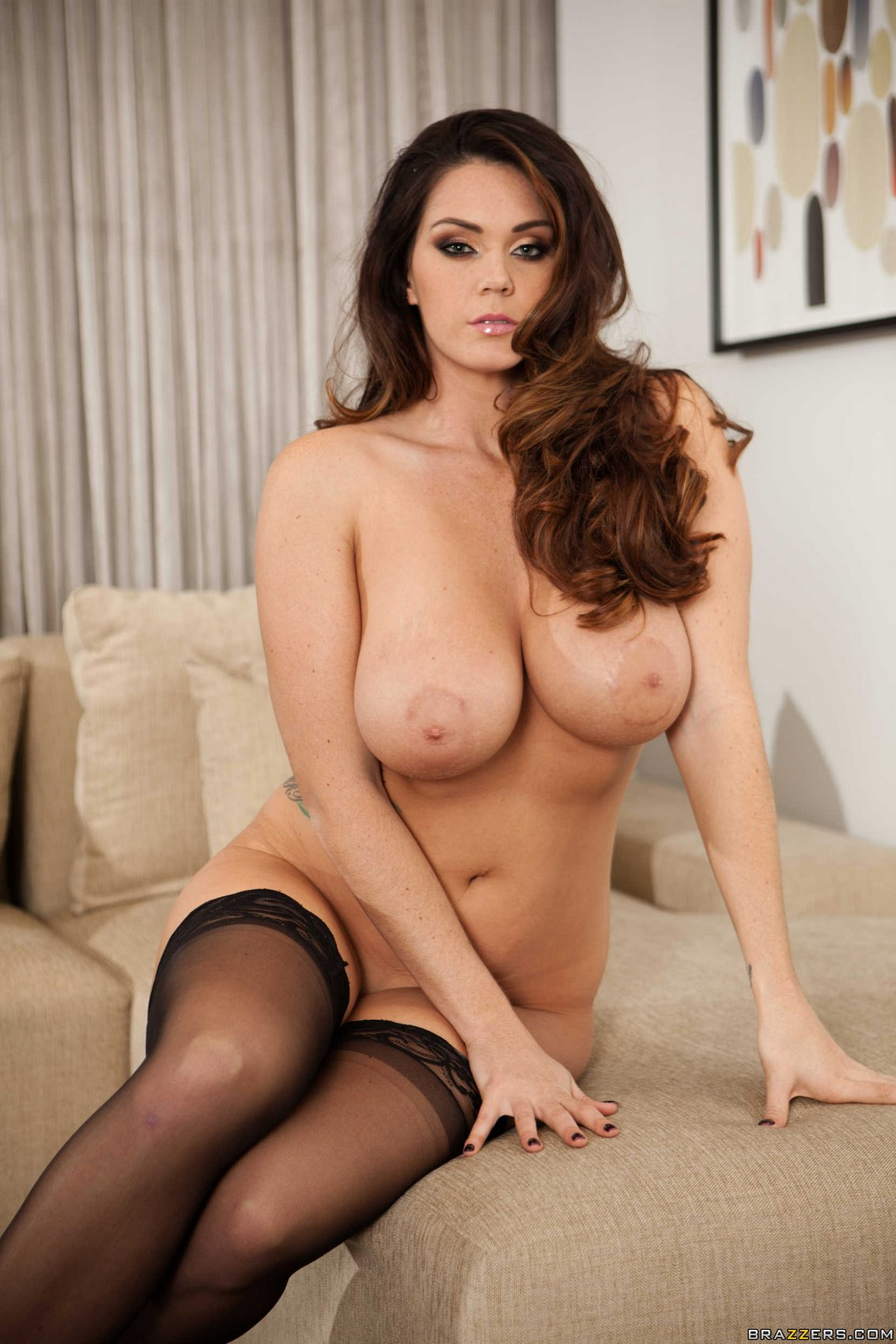 Six foot goddess alison tyler stuffs her pussy with a toy 3