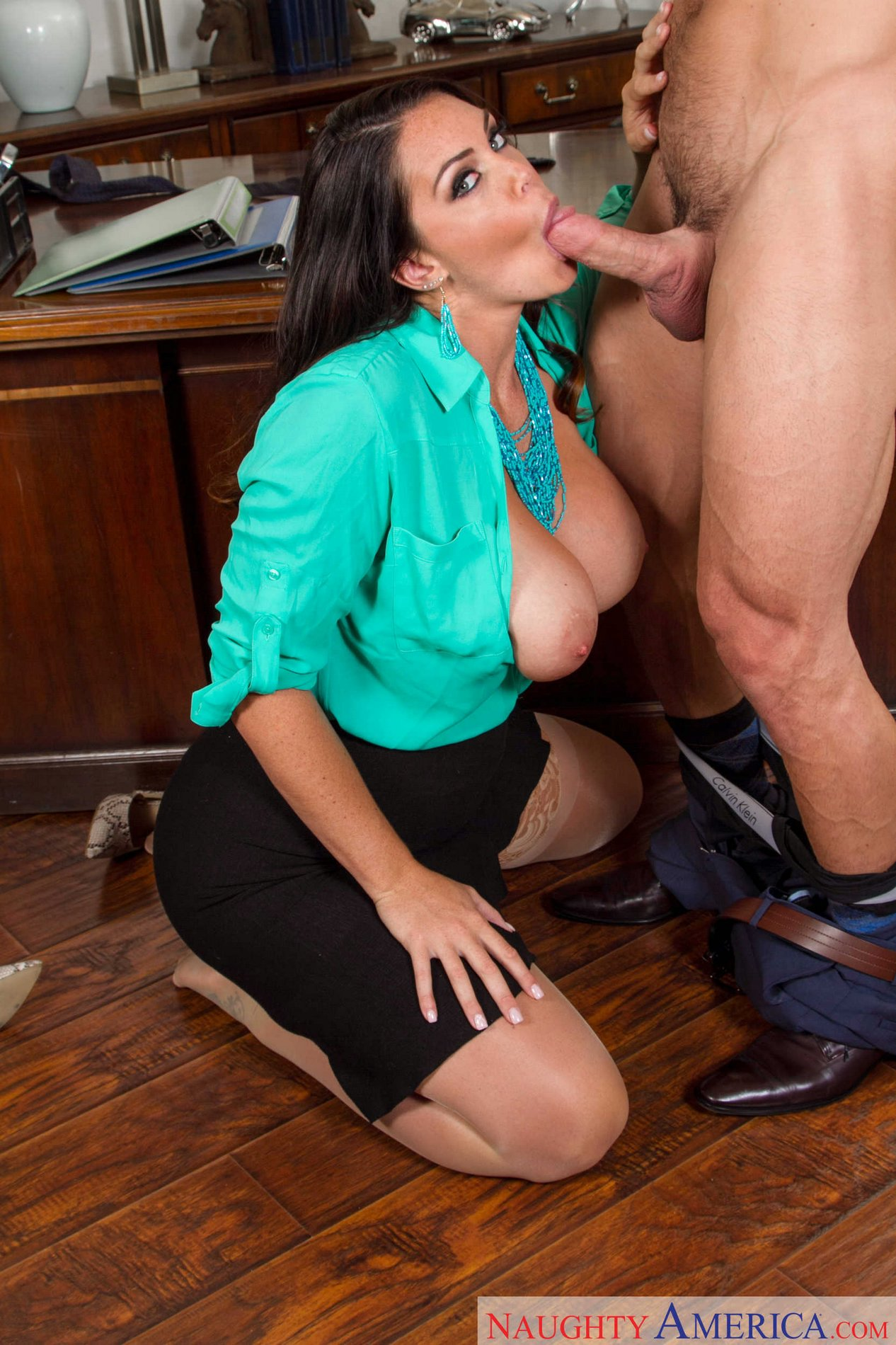 Hot office milf