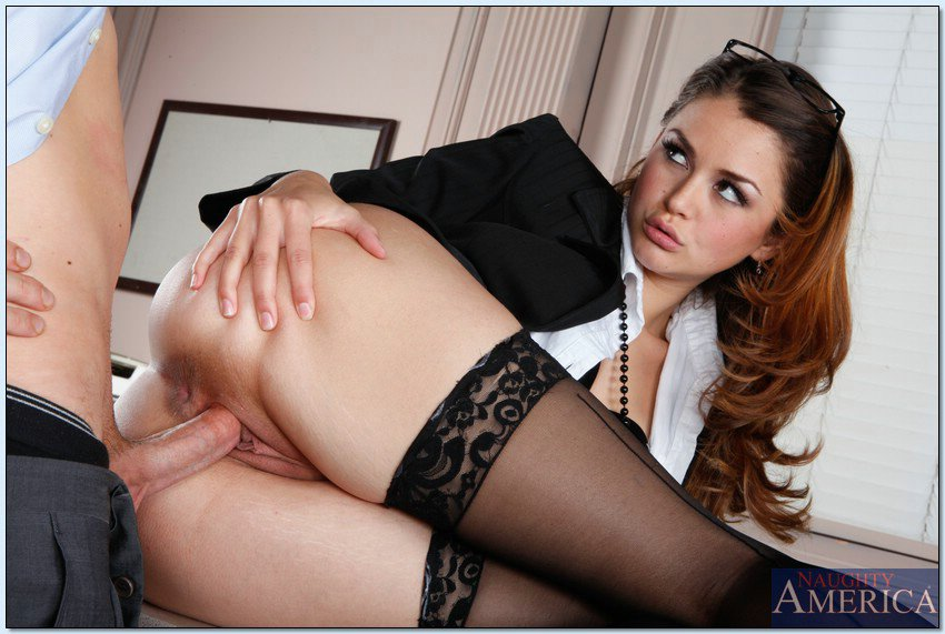 Naughty Business Woman Allie Haze Enjoys Hard Sex In The -9966