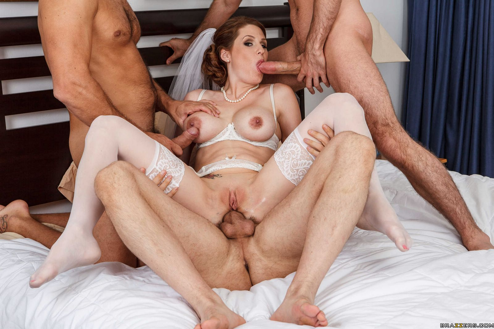 Fucked by three black friends and still needs masturbation