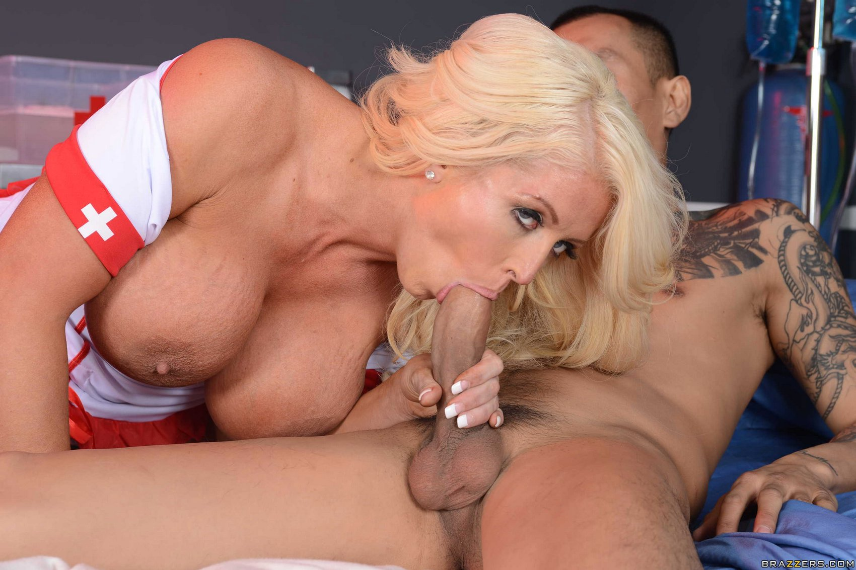 Alura jenson milf threesome fuck arrest with brandie mae - 2 part 10