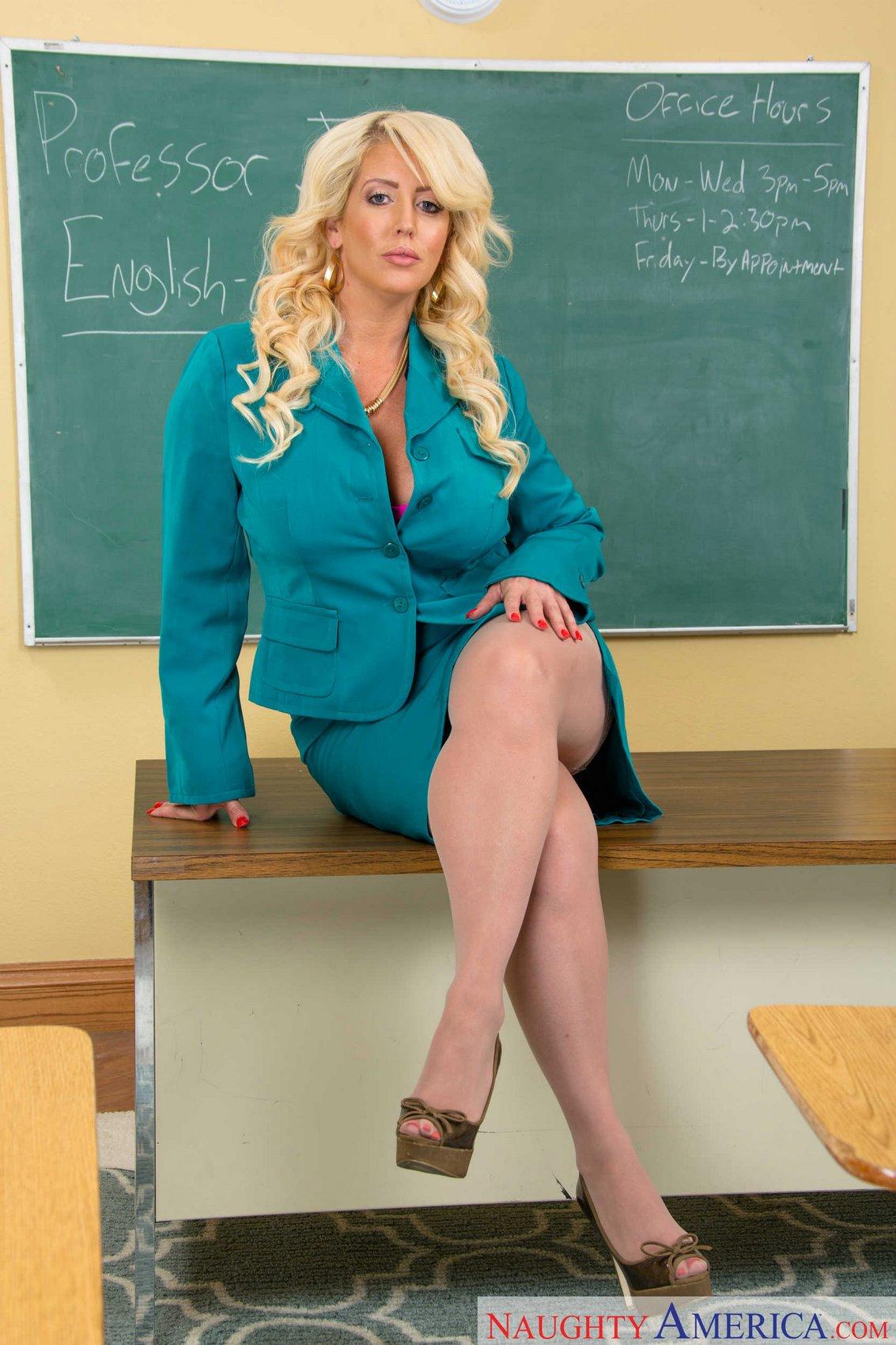 Milf busty teacher