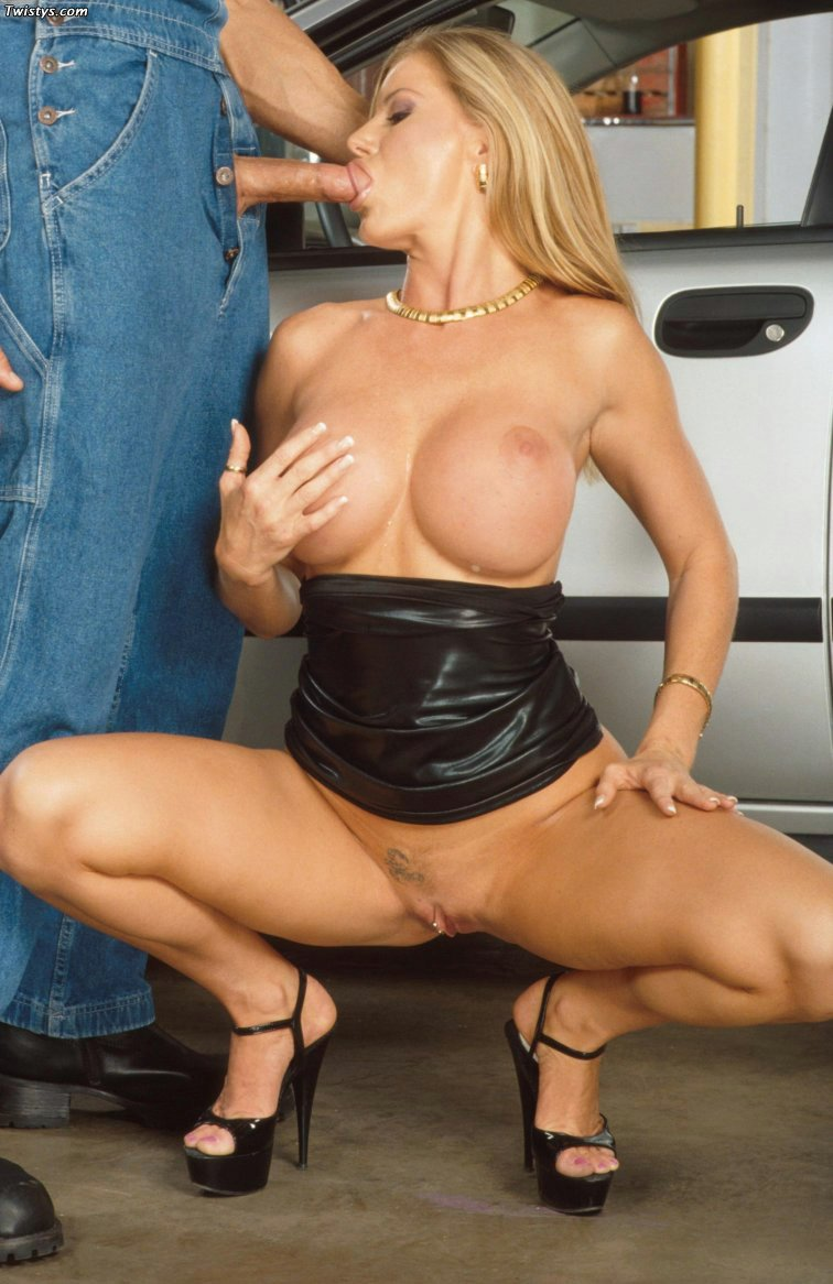 Amber Michaels Having Hot Sex With Handsome Mechanic - My -5680