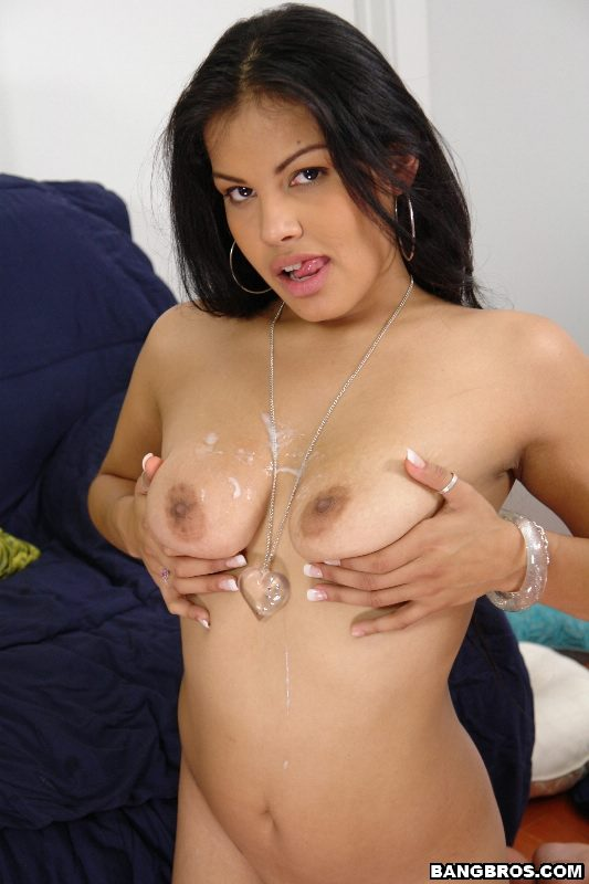 Big boobs webcam strip
