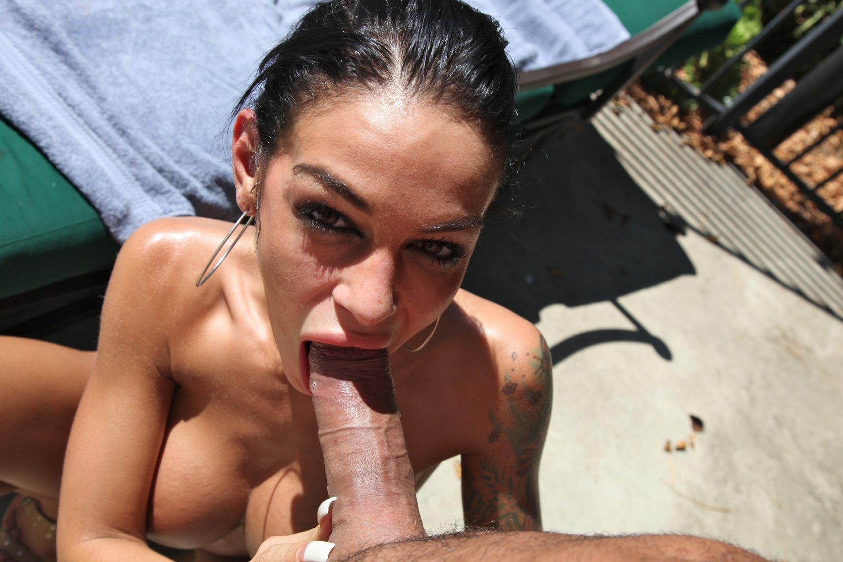Angelina valentin blowjob