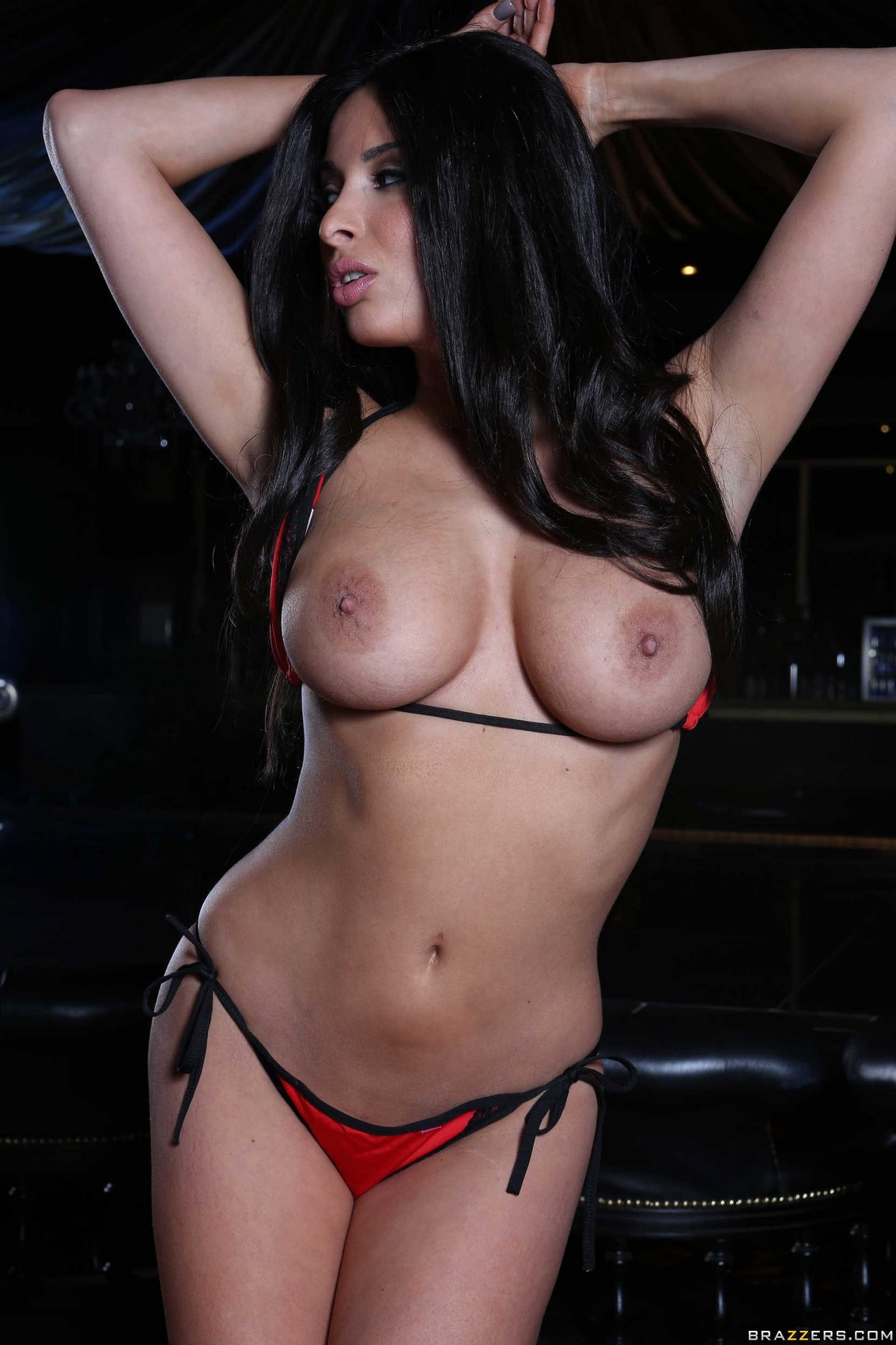 Consider, what Anissa kate rainbow bikini