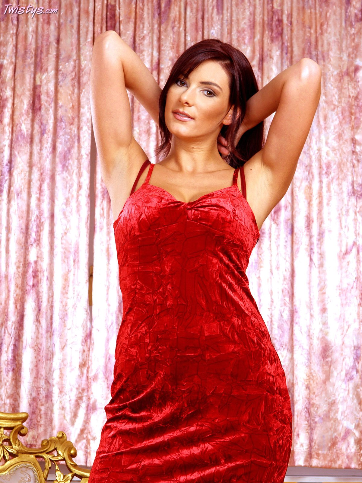 red-dress-pussy