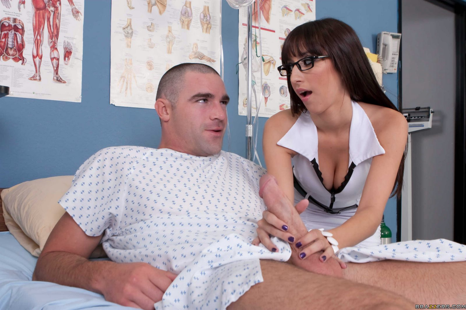 Chick receives pounded by charming nurse