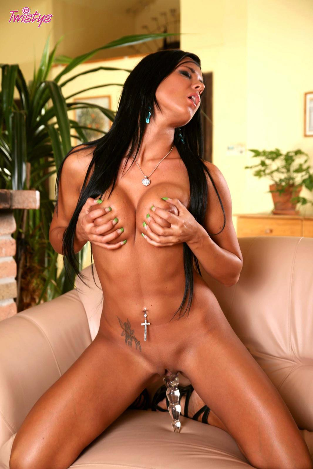 Agree, ashley bulgari dildo