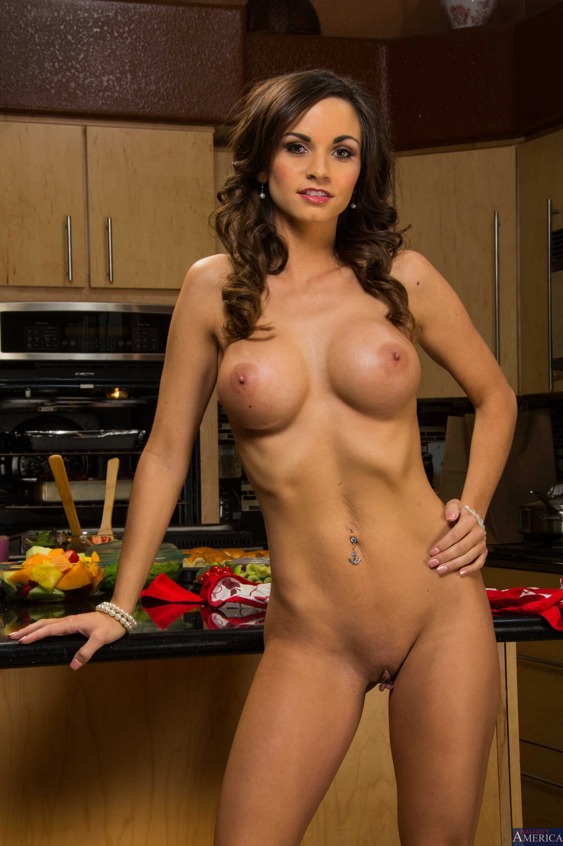 Ashley Sinclair stripping and showing off her hot body in ...