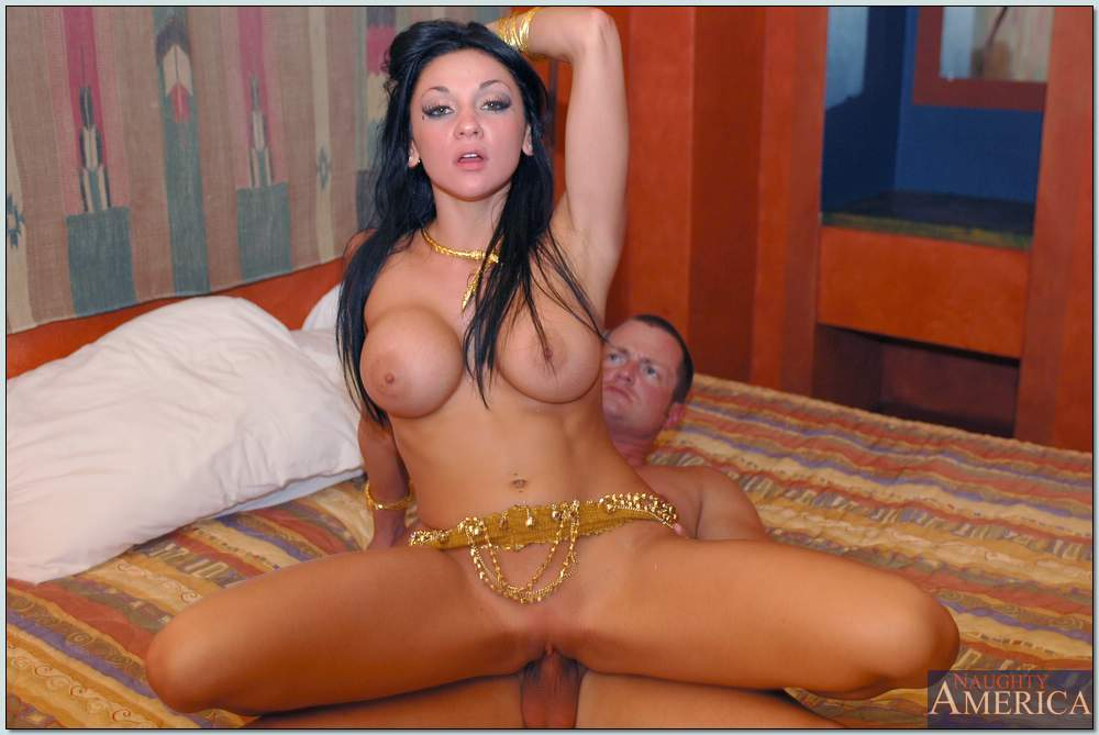 Hot belly dancer Audrey Bitoni getting fucked hard - My ...