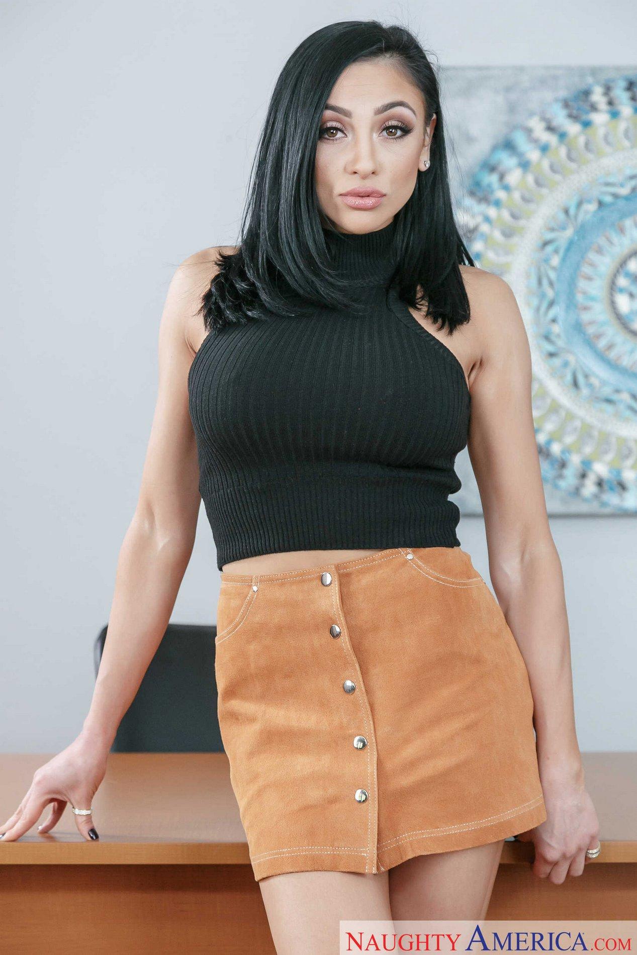 KASEY: Sexy office strip
