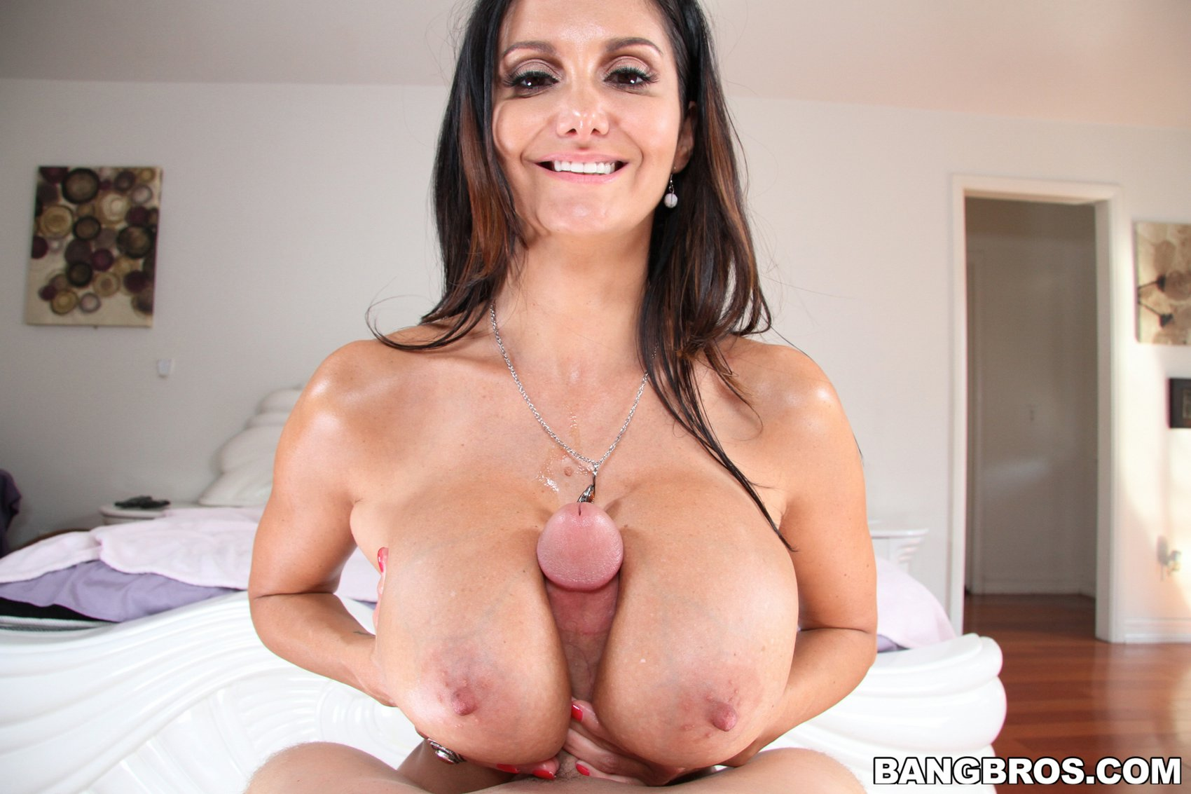 Huge oiled up tittyfuck 8