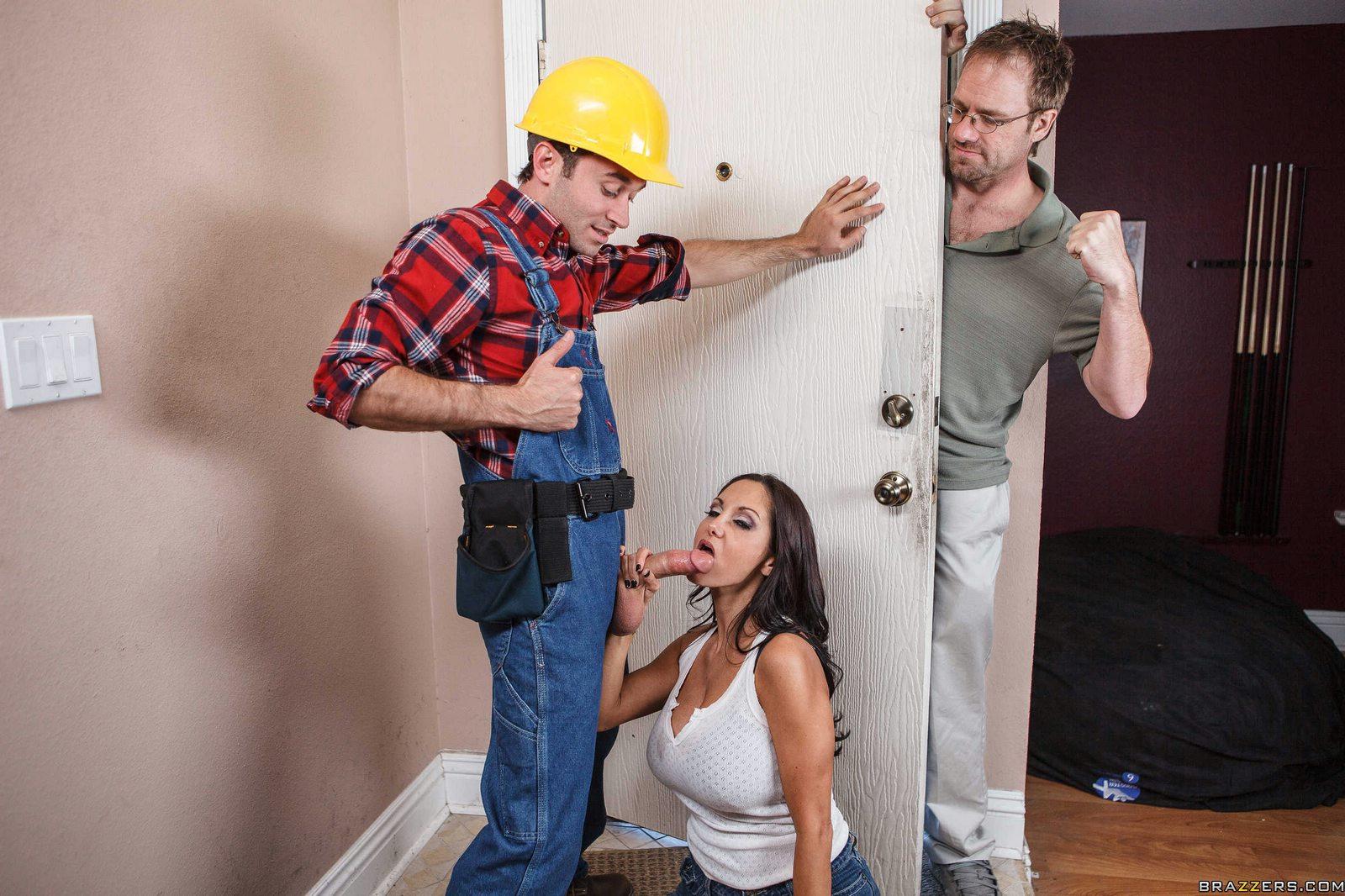 Строители и хозяйки порно — pic 14