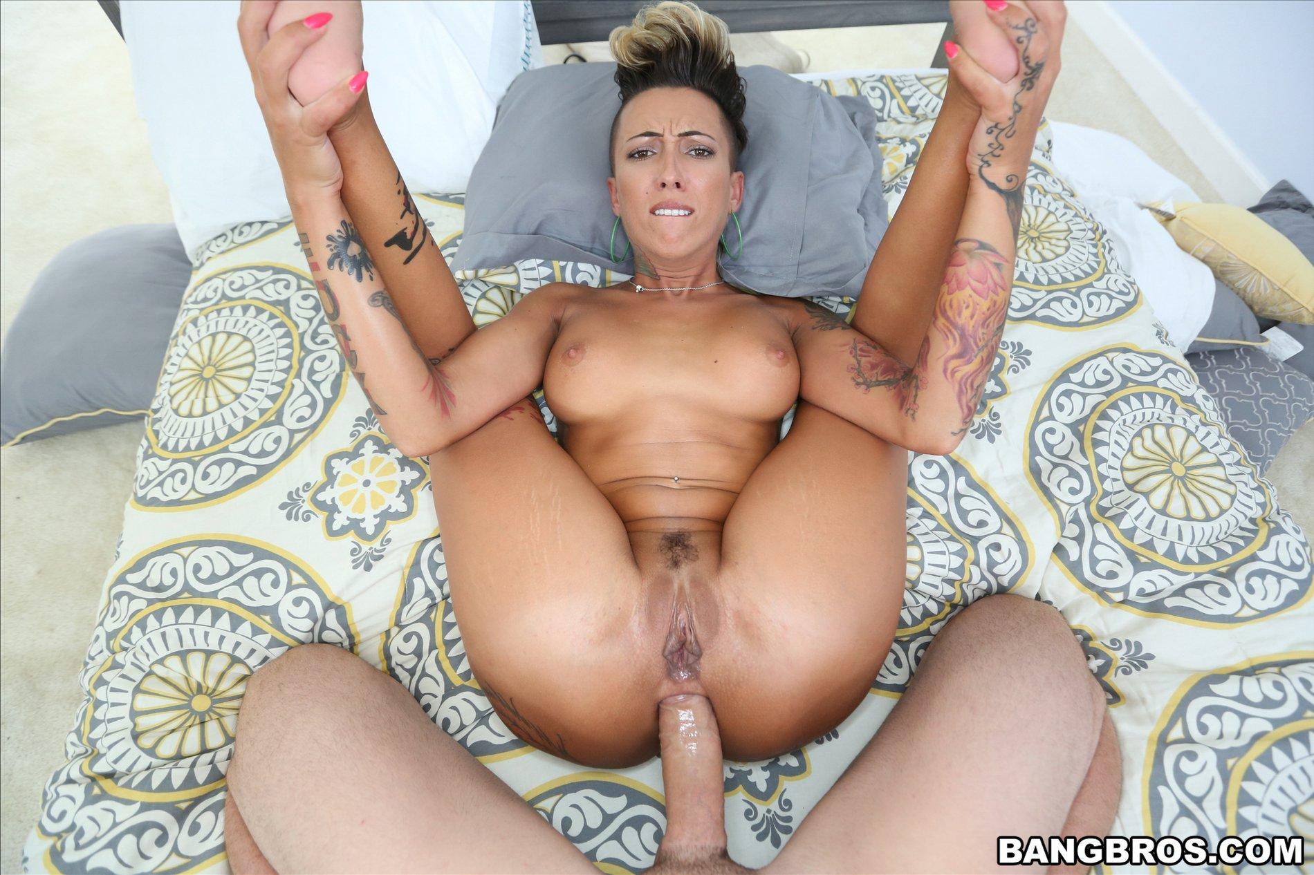 Big tits gangbang porn