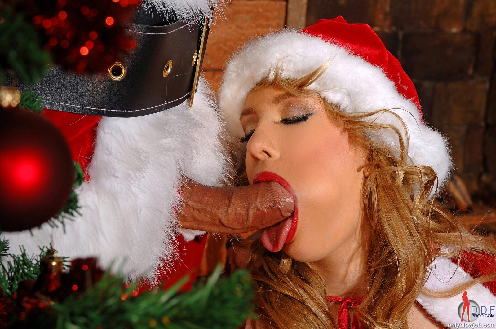 Ho ho homg santas little helper gives santa a present he wont soon forget