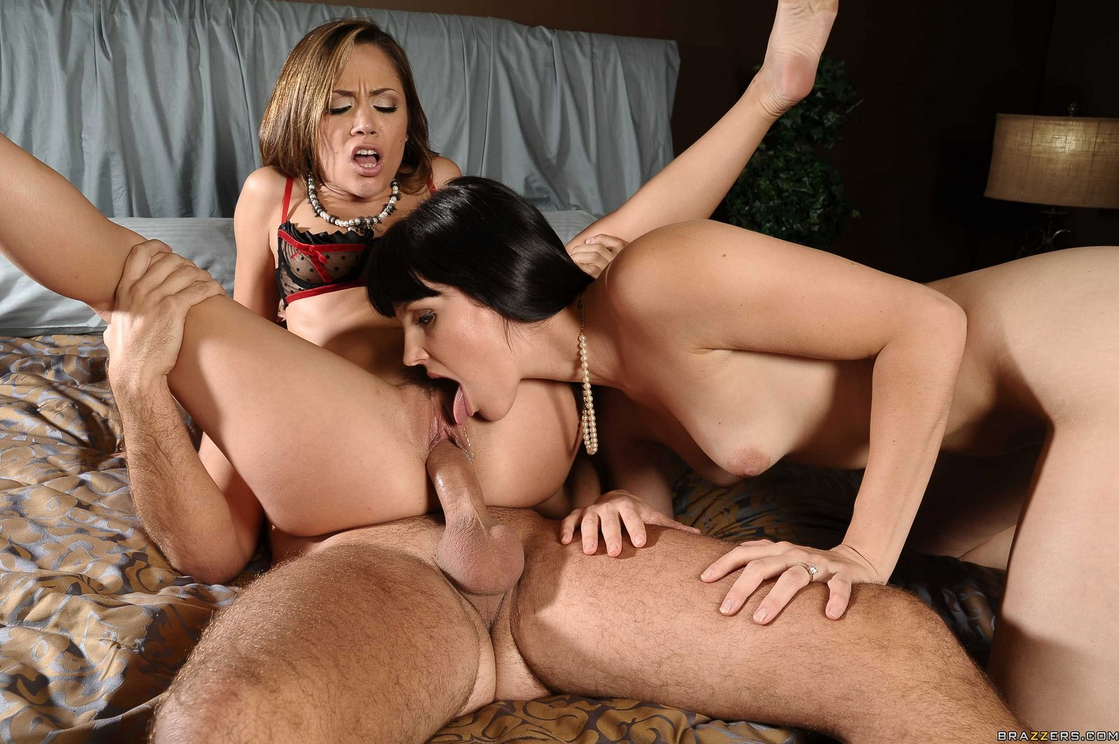 Rose Monroe Big Ass Threesome