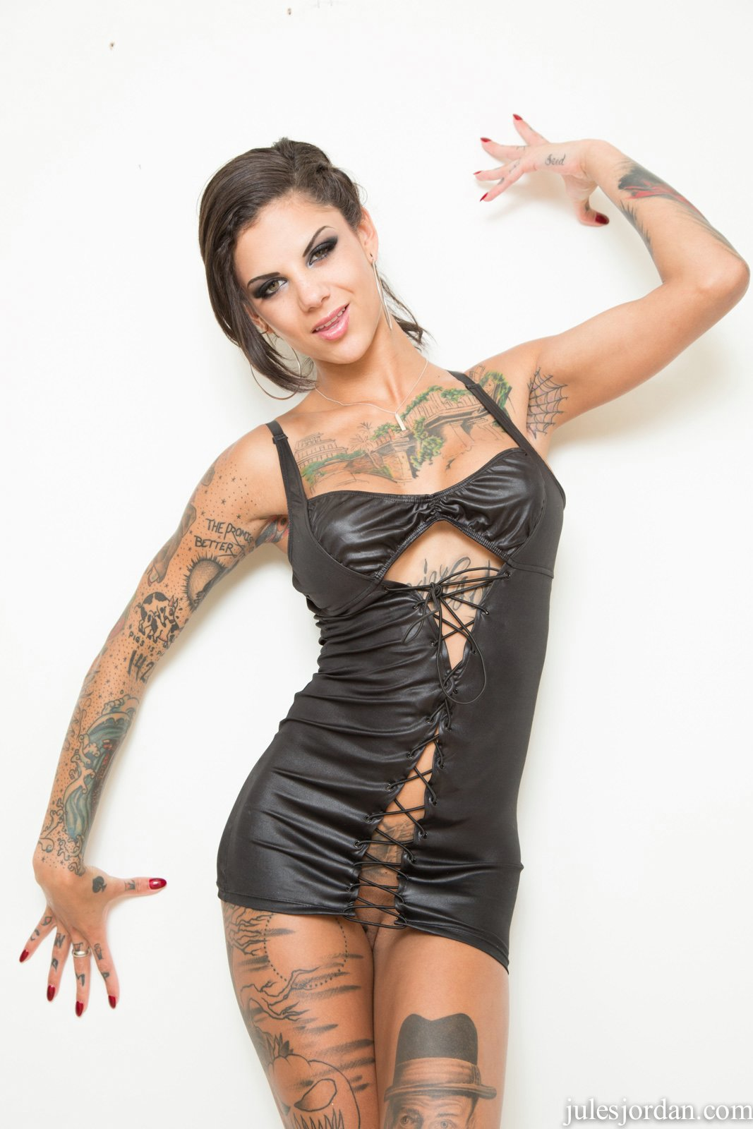 Bonnie rotten fetish Bonnie Rotten In Fetish Outfit Poses And Gets Fucked Very Hard My Pornstar Book