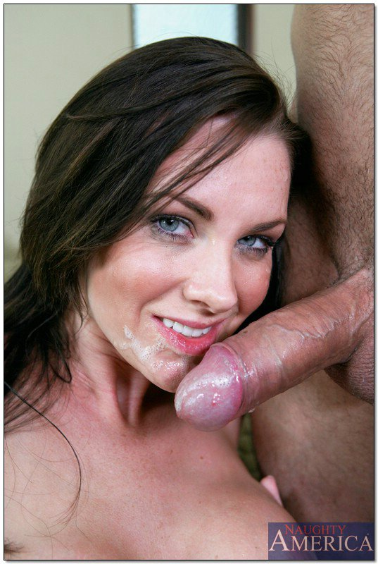 Mom gets a facial
