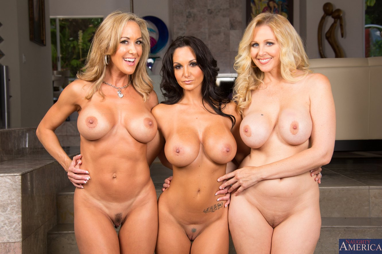 Good, support. Julia ann brandi love threesome