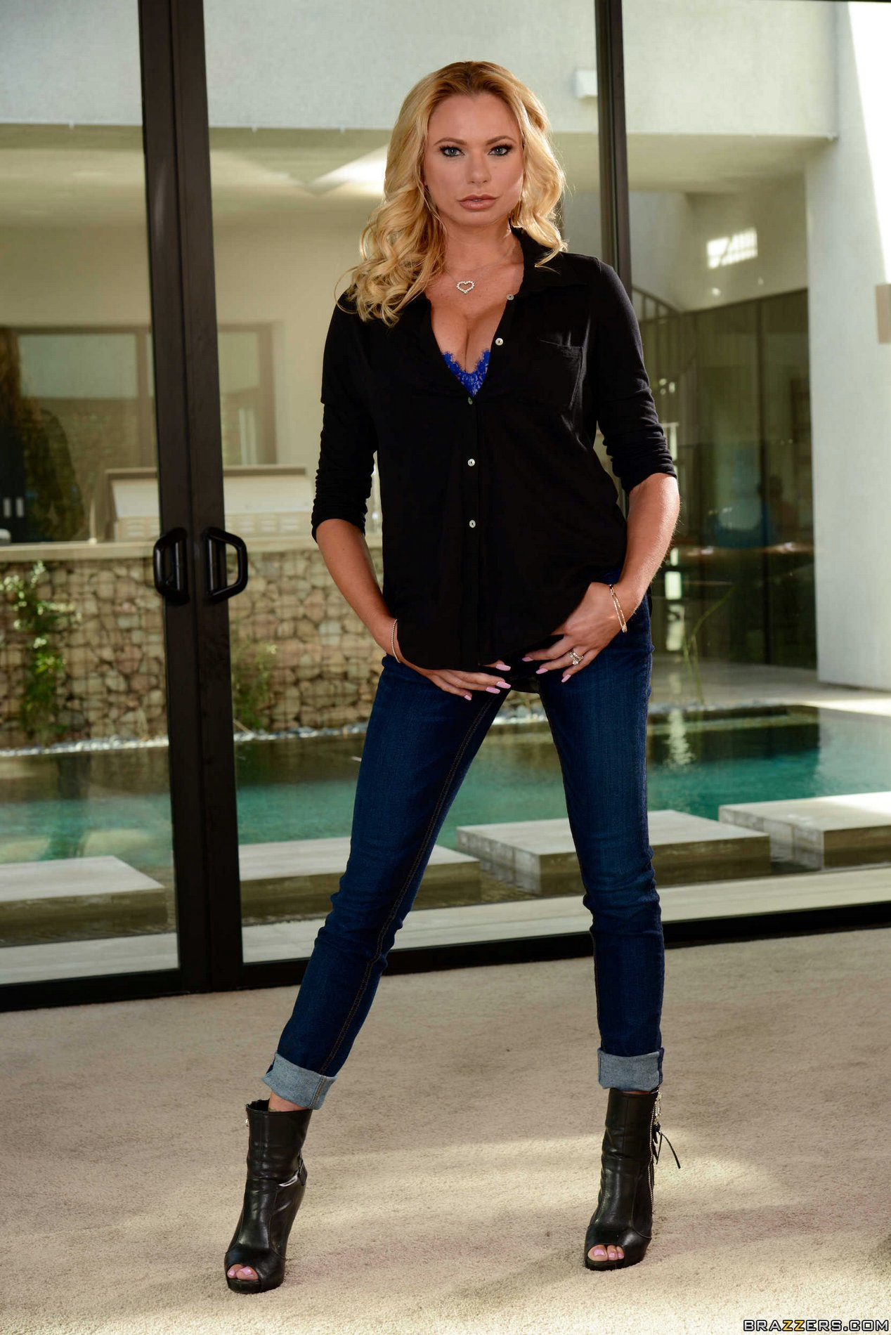 Briana Banks in sexy boots exposing her body - My Pornstar ...