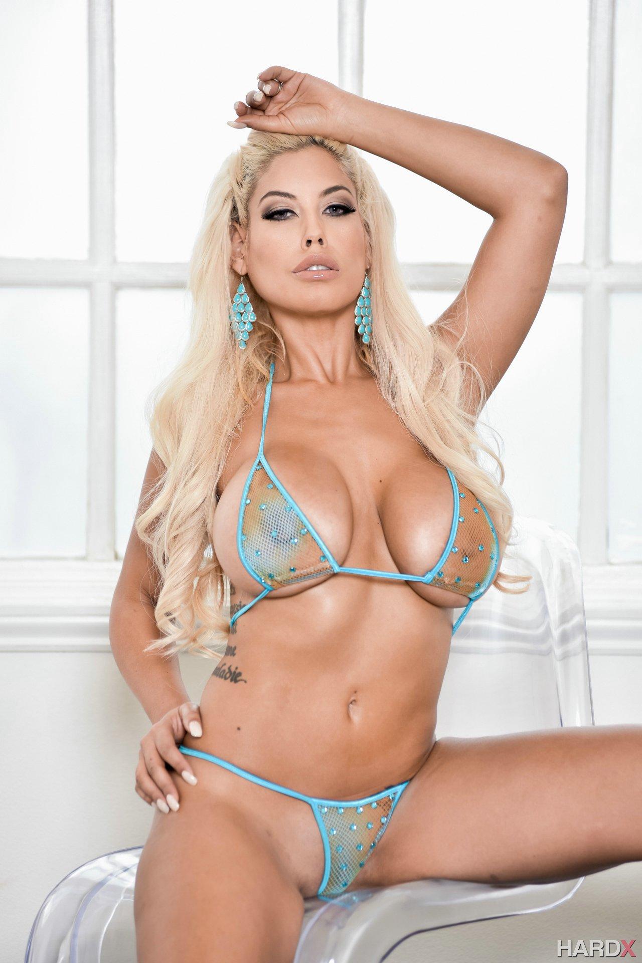 Busty anal threesome