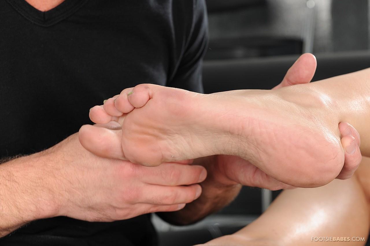 Foot fetish amber