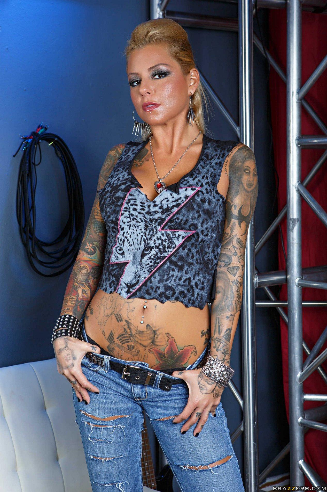 tattooed teen porn stars