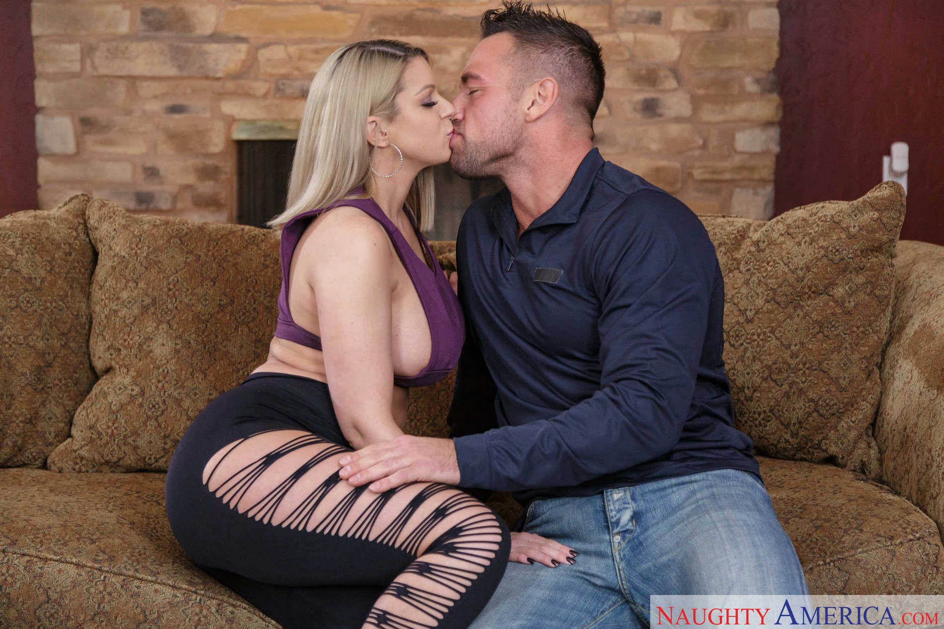 Brooklyn Chase Titty Fuck