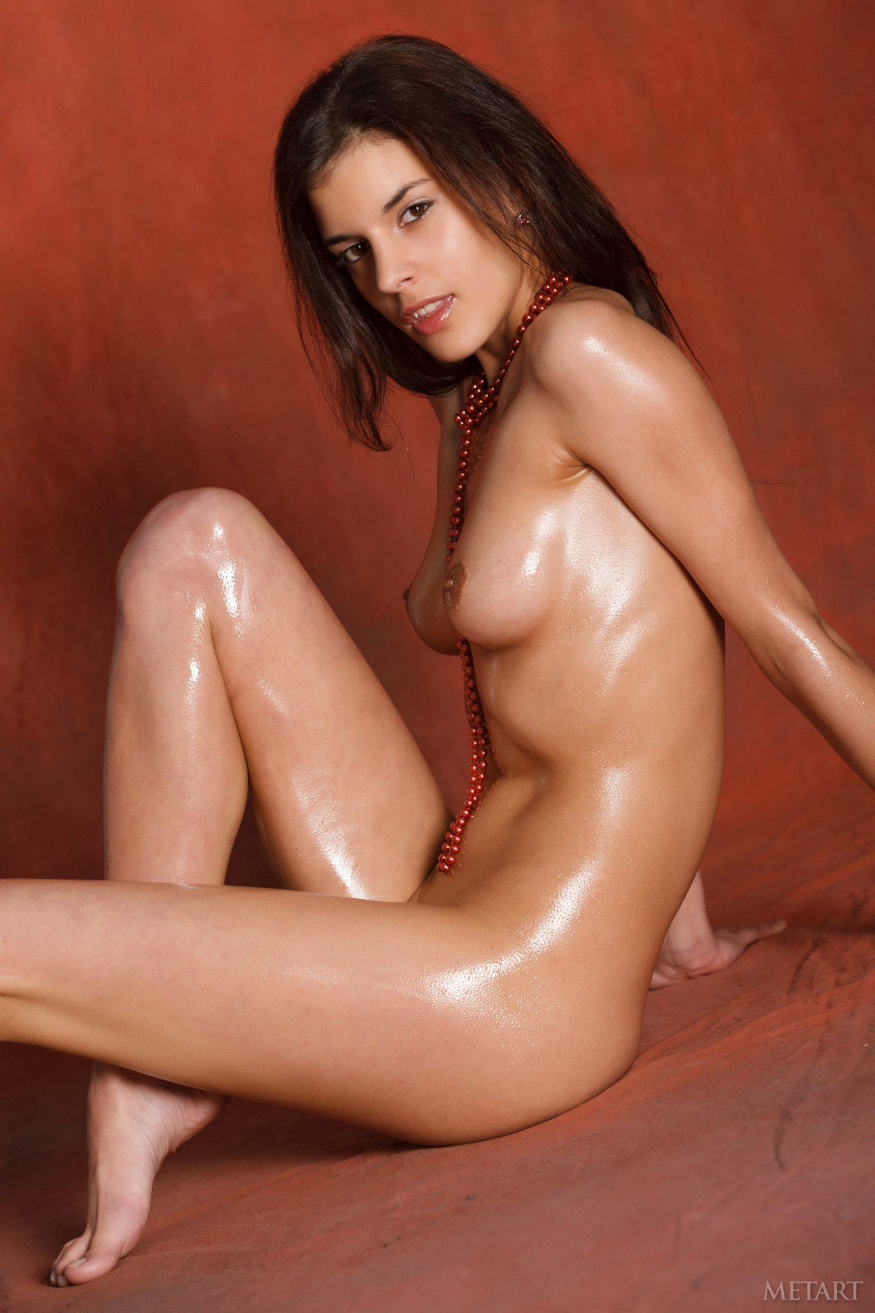 oily black women nude