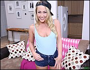 Young cutie Carter Cruise stripping before taking deep anal in leg warmers  594751