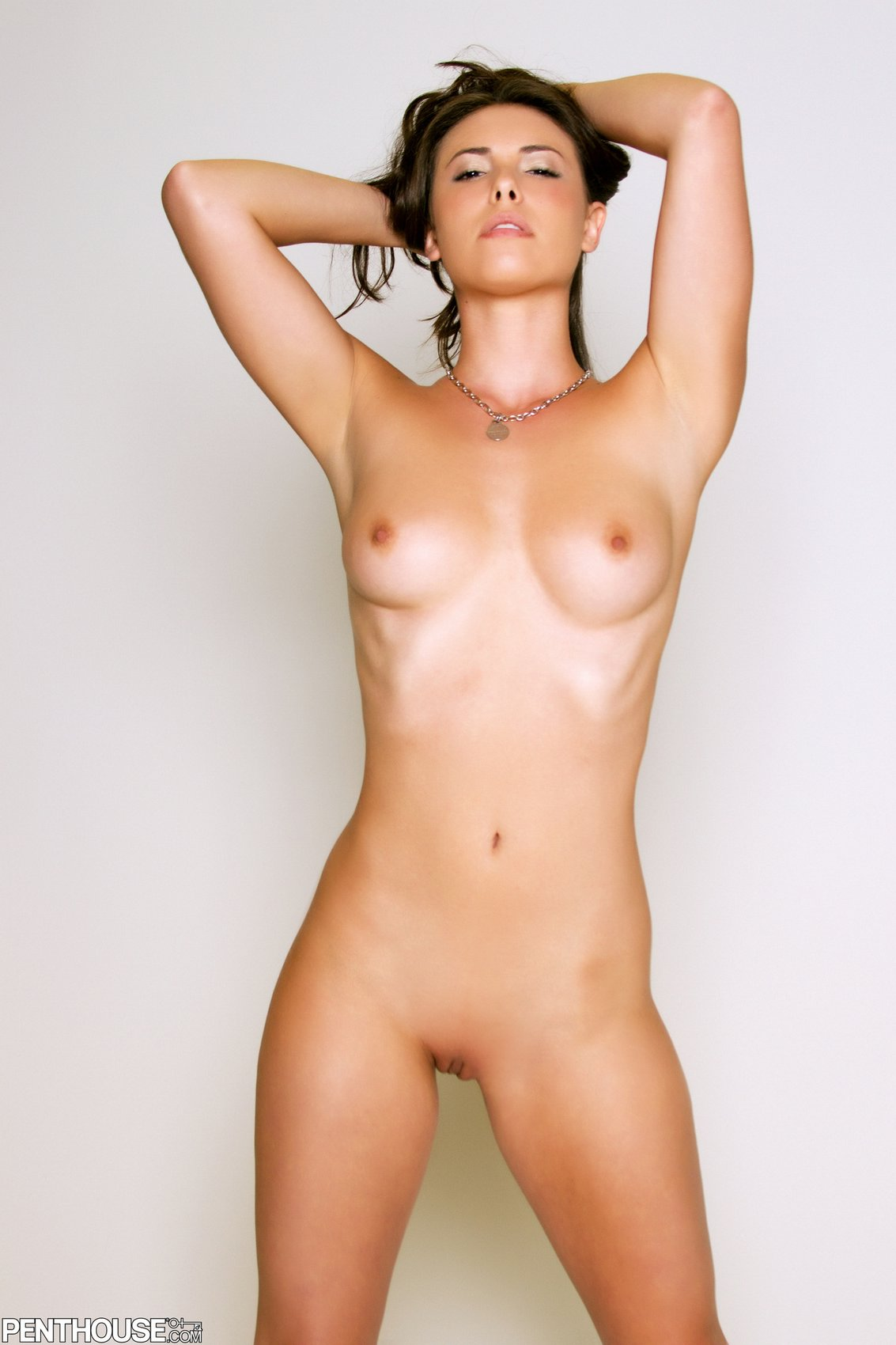 posing camera naked winter