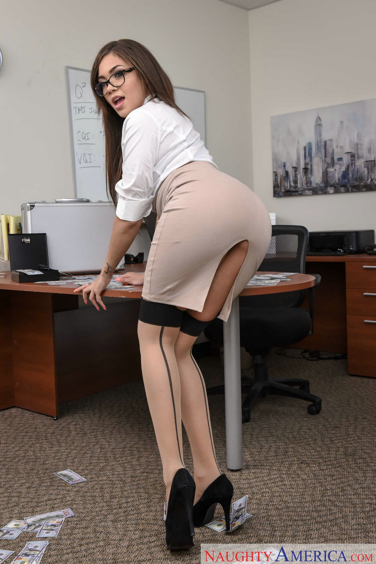Have Sexy office stockings