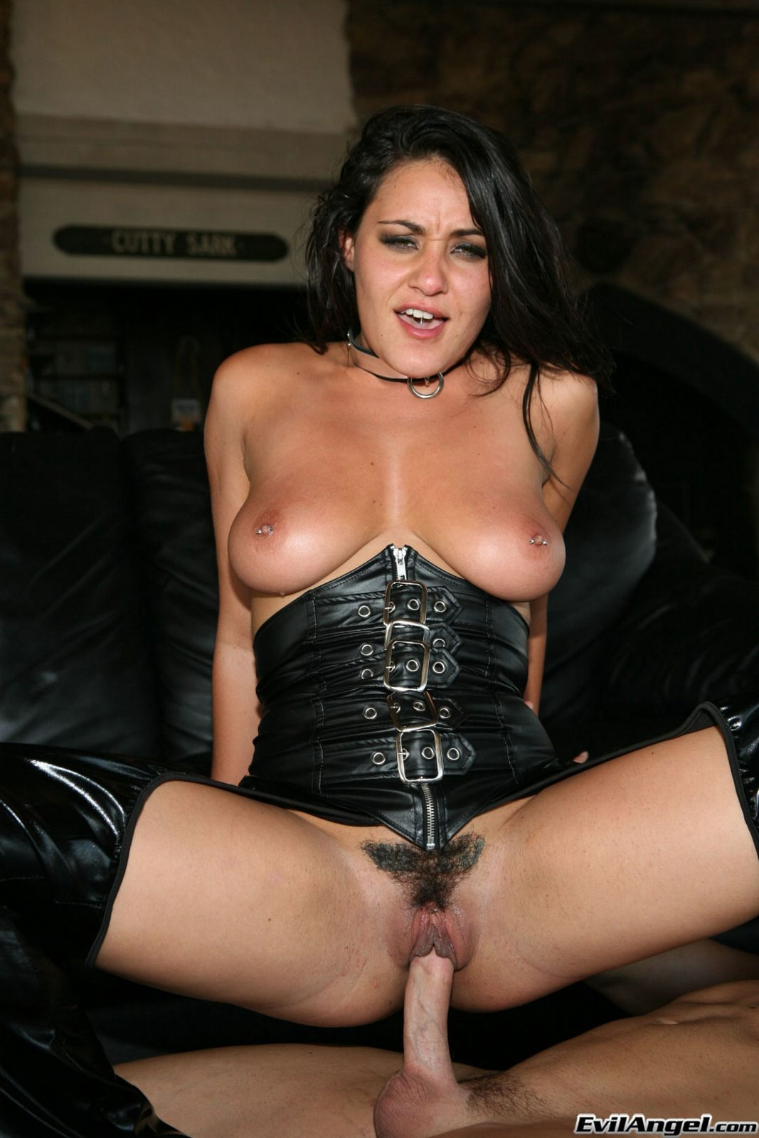 Anal sex in latex