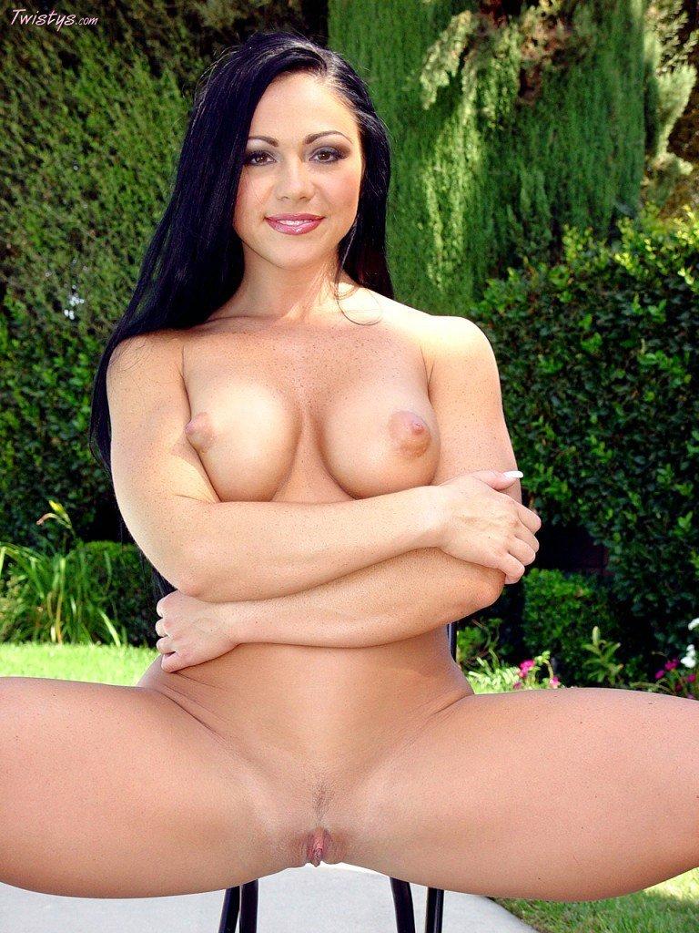 bikini girl cherokee posing for your pleasure outdoor my