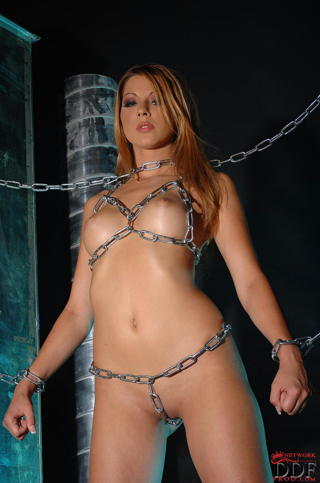 naked hot slave girl