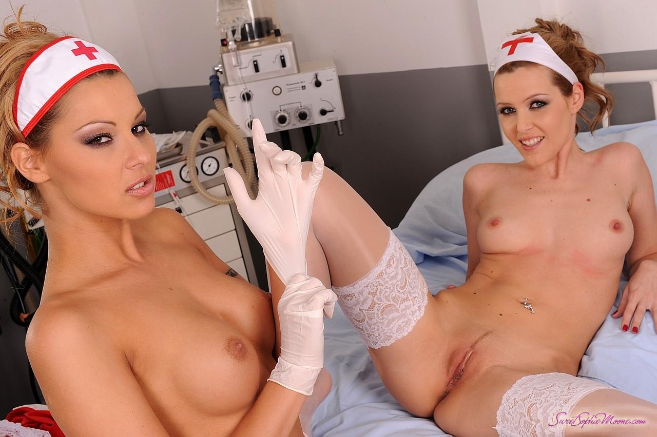 Sexy Hot Nurse Naked