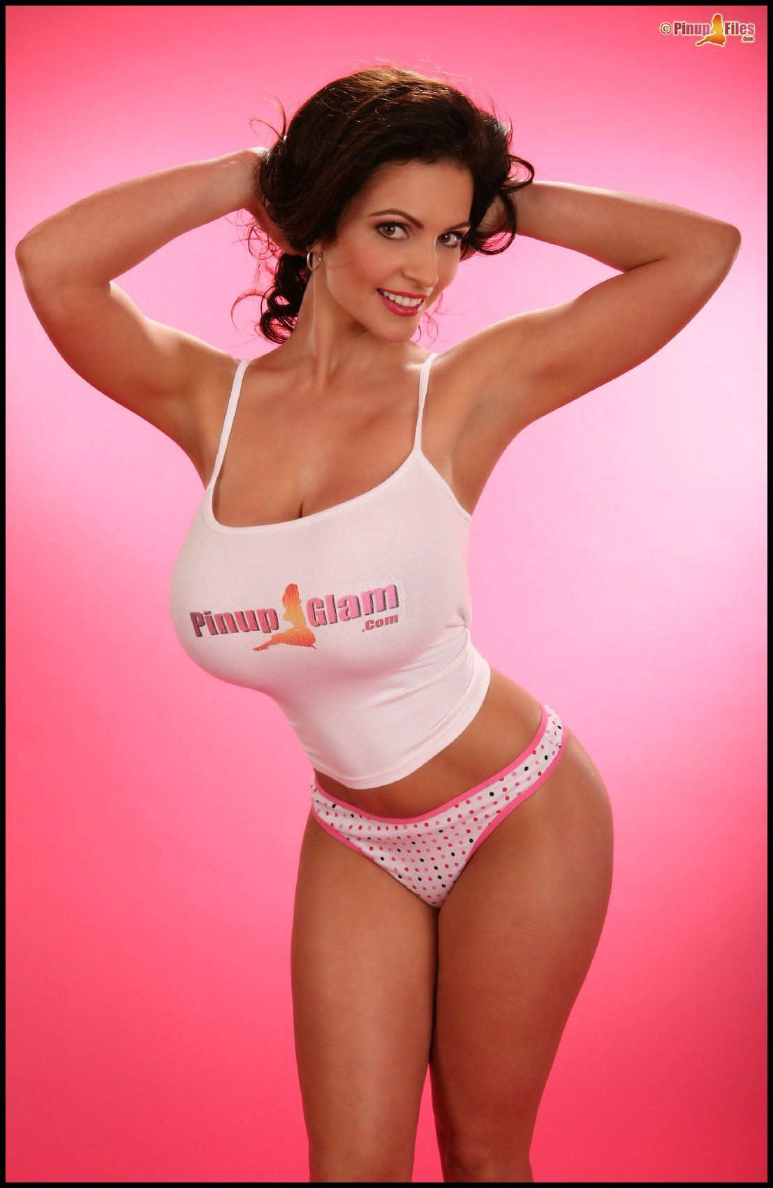 Cute busty beauty Denise Milani posing for you - My ...