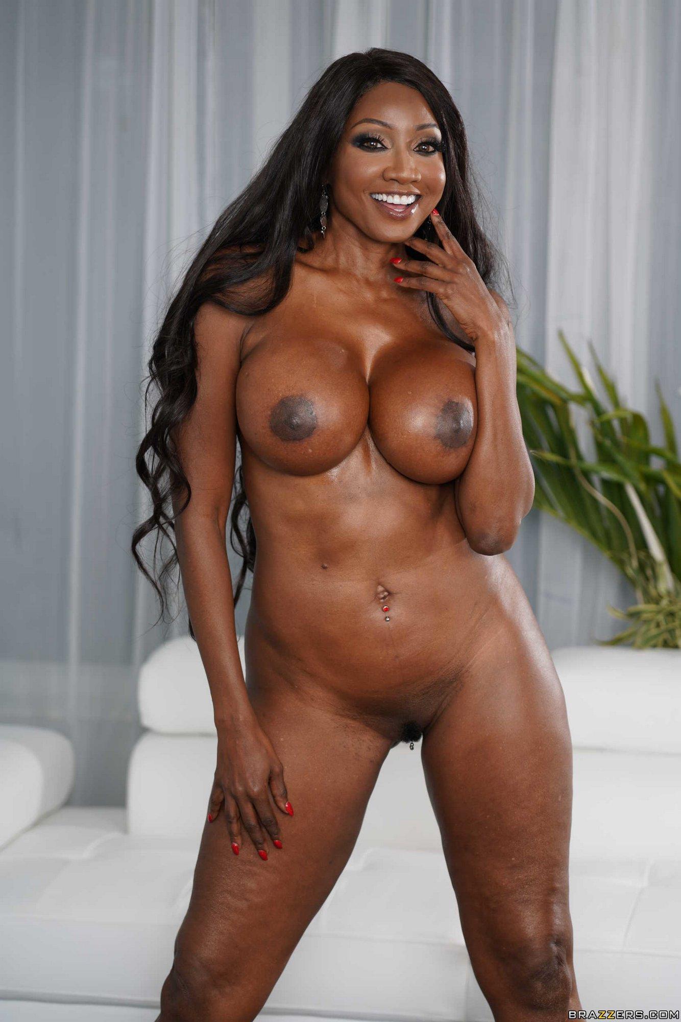 Black beauty Diamond Jackson getting nude - My Pornstar Book